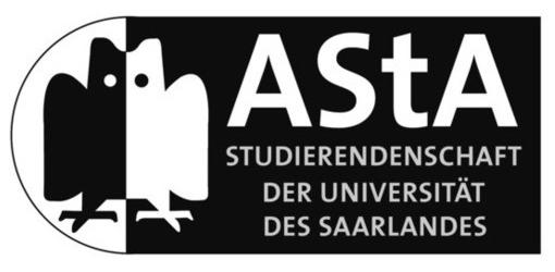 AStA der Universität des Saarlandes Logo